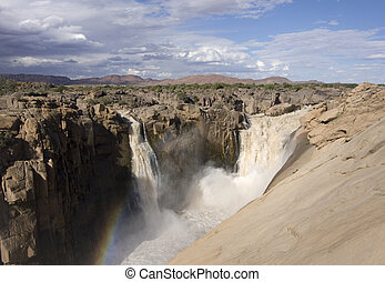 Augrabies waterfall South Africa - Augrabies waterfall...