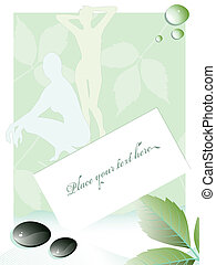 beauty and spa background - vector illustration background...