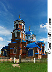Russian rural church