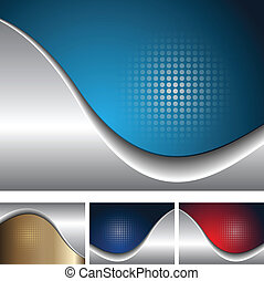 Backgrounds - Abstract business backgrounds elegant with dot...