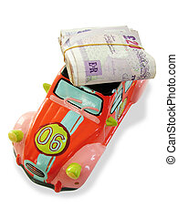 Money and car money box