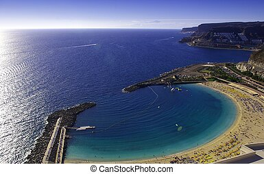 playa del amadores - Playa del Amadores in Gran Canaria