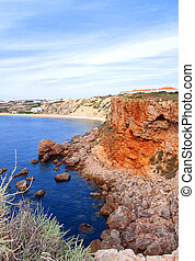 coast in Portugal Algarve