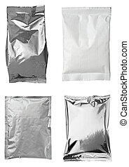 aluminum metal bag package - collection of various aluminum...