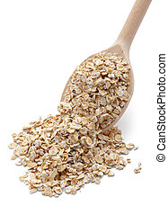 oat flakes cereals diet food