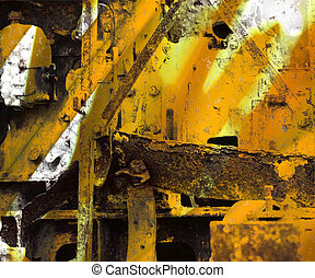 Grunge Industrial Art Background - Grunge Industrial Art...