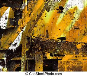 Grunge Industrial Art Background - Grunge Industrial Art...
