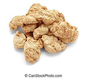 soya flakes diet vegetarian food
