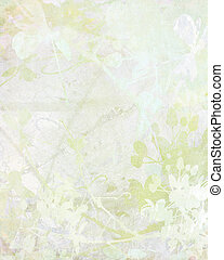 pálido, flor, arte, papel, fundo