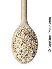 Avena, escamas, cereales, dieta, alimento