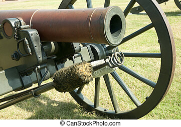 Historic Cannon - Historic cannon from American Civil War