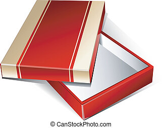 Gold-red box