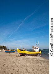 pescadores, barco