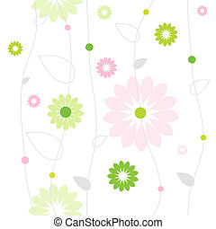 Floral background - Cute floral background