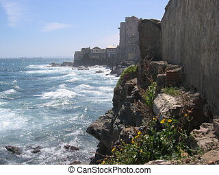 Coast of Algiers Algeria