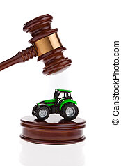Tractor will be auctioned - A tractor will be auctioned...