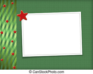 Multicolored backdrop for greetings or invitations with frames and stars