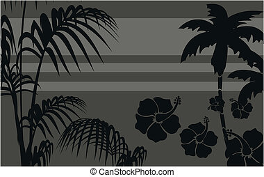 tropical hawaii background5