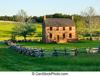 Old Stone House Manassas Battlefield - The old stone house...