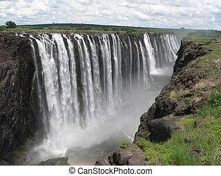 Victoria Falls - Victoria falls in Zimbabwe