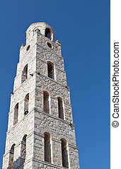 Tower structure at Mani of Greece - Traditional tower...