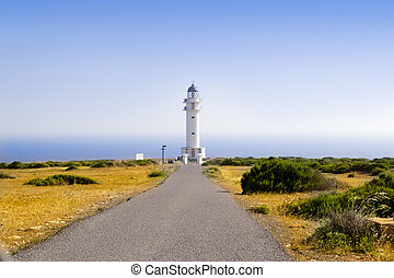 Barbaria Lighthouse Formentera Balearic Island - Barbaria...