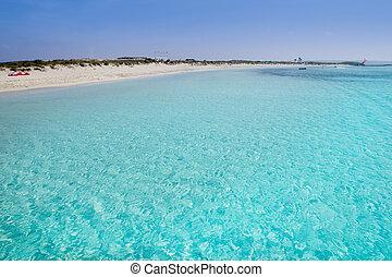 Illetas formentera illetes beach turquoise paradise tropical...