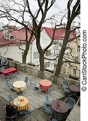 Terrace - Cafe at Tallin garden
