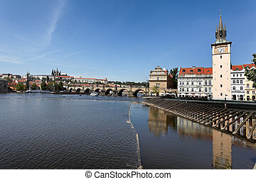 Prague, Charles Bridge and Prague Castle Hradcany