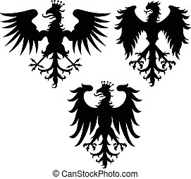 eagle crest griffin illustration