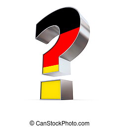 Germany Question Mark