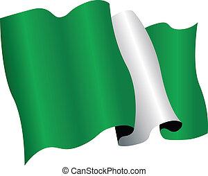 nigeria flag - nigerian flag