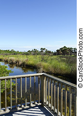 Merritt Island National Wildlife Refuge Titusville, Florida...