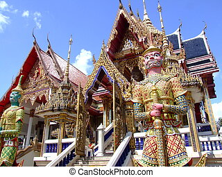 Buddhist temple in Thailand.