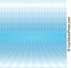 Abstract background technology blue, 3d vector illustration
