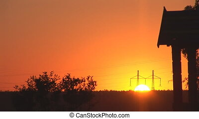 sunset power line 1