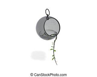 design element in the interior of a pot made %u200B%u200Bof...