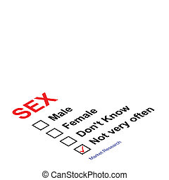 sex questionnaire - Market research sex questionnaire with...