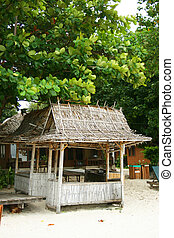 Jungle beach hut - Jungle beach bar on Koh Samet, Thailand
