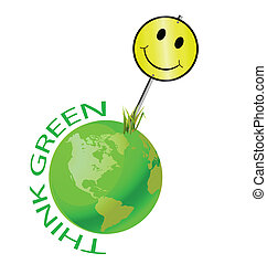 Think green and make the world happy