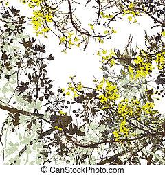 Flower Art Digital Painting Background - Flower Art Digital...
