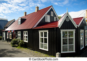 Old nordic house in Reykjavik - Beauty old nordic house in...