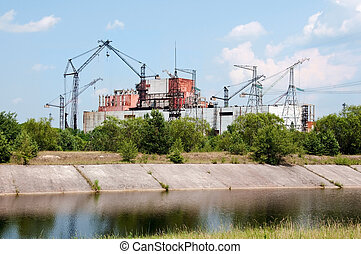 Chernobyl atomic power station - Chernobyl atomic nuclear...