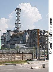 Chernobyl, atómico, potencia, estación