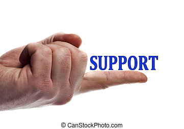 Support word