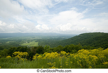 Shenandoah Valley - Shenandoah Valley as seen from the Blue...