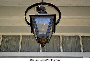 ランプ, ガス