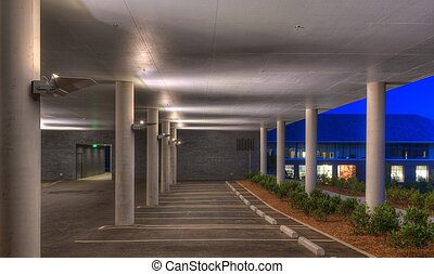 parking deck - modern parking deck architecture