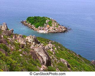 Little Fitzroy Island - Australia - View of Little Fitzroy...