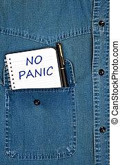No panic message